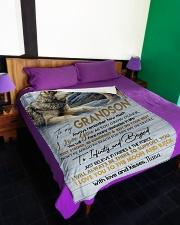 "To My Son - Nana Large Fleece Blanket - 60"" x 80"" aos-coral-fleece-blanket-60x80-lifestyle-front-01"