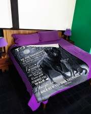 """To My Son - Mama Large Fleece Blanket - 60"""" x 80"""" aos-coral-fleece-blanket-60x80-lifestyle-front-01"""