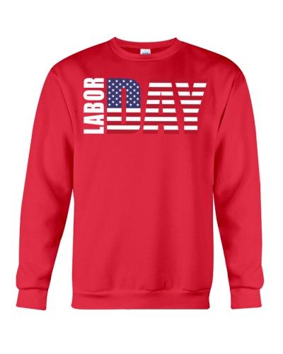 American Flag - Labor Day T Shirt