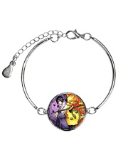 Limited Edition Metallic Circle Bracelet front