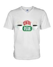 Friends central perk mug  V-Neck T-Shirt thumbnail