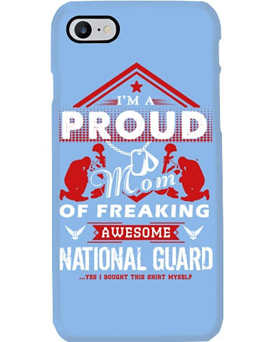 Proud Mom Of Awesome National Guard Shirt