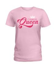 Coupon Queen Ladies T-Shirt front