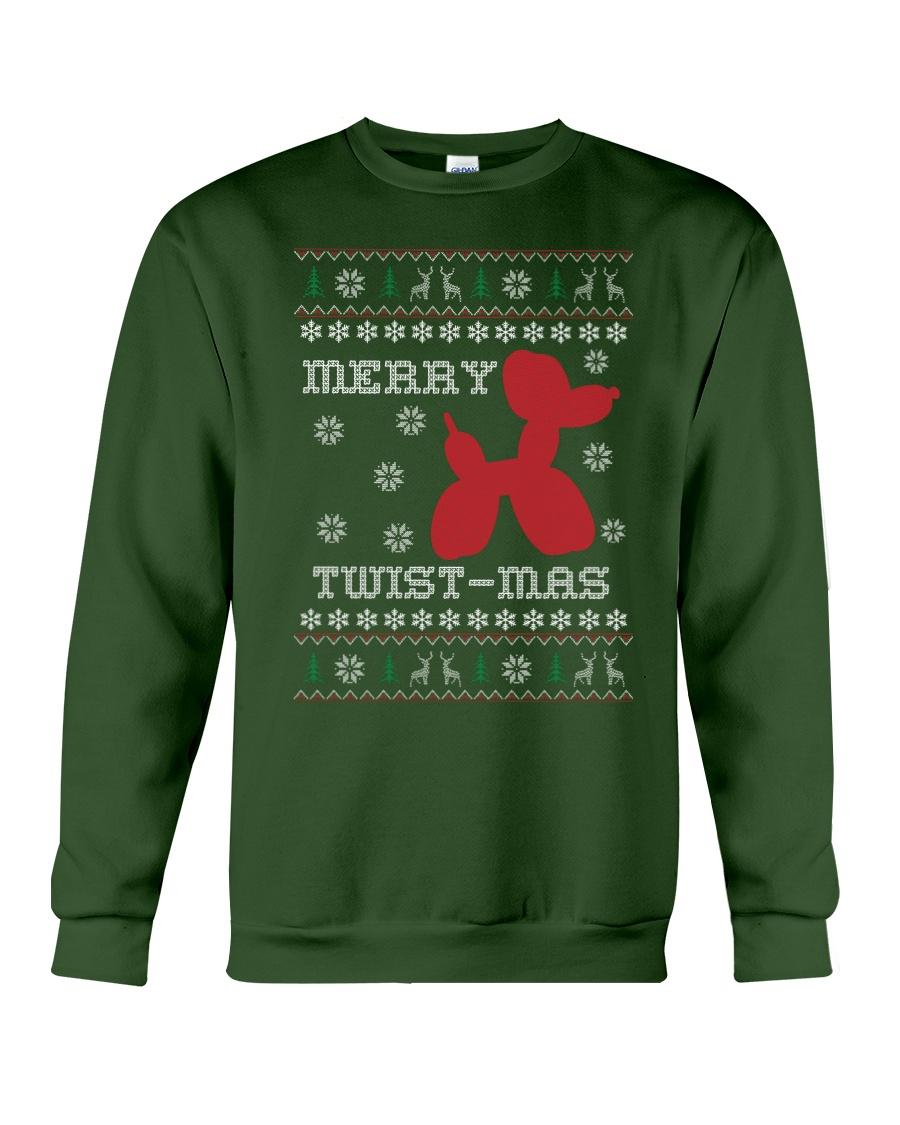 Merry Twist-Mas Sweatshirt Crewneck Sweatshirt