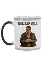 Friday Night Dinner - Hello All Cup Color Changing Mug color-changing-left