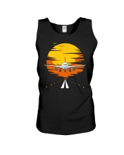 AIRPLANE GIFTS  - SUNSET AIRPLANE Unisex Tank tile