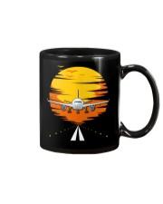 AIRPLANE GIFTS  - SUNSET AIRPLANE Mug thumbnail