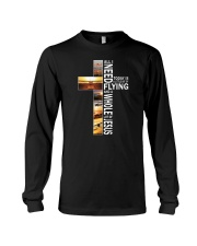 GIFTS FOR NEW PILOTS - WHOLE LOT OF JESUS Long Sleeve Tee thumbnail