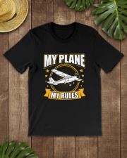 PILOT GIFT - MY PLANE MY RULE Classic T-Shirt lifestyle-mens-crewneck-front-18