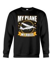 PILOT GIFT - MY PLANE MY RULE Crewneck Sweatshirt thumbnail