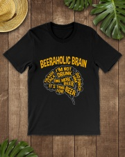 TRULY DRINK - BEERAHOLIC BRAIN Classic T-Shirt lifestyle-mens-crewneck-front-18