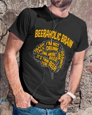 TRULY DRINK - BEERAHOLIC BRAIN Classic T-Shirt lifestyle-mens-crewneck-front-4