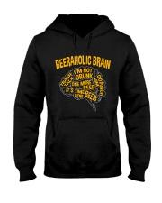TRULY DRINK - BEERAHOLIC BRAIN Hooded Sweatshirt thumbnail