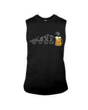 CRAFT BEER LOVER - FRIDAY BORNS TO BEER Sleeveless Tee thumbnail
