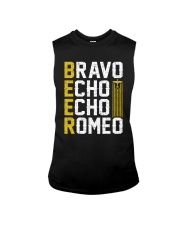 Pilot Beer Lover Gifts - Bravo Echo Echo Romeo Sleeveless Tee tile