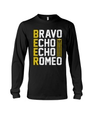 Pilot Beer Lover Gifts - Bravo Echo Echo Romeo Long Sleeve Tee thumbnail
