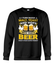 CRAFT BEER AND BREWERY - TASTY BEER Crewneck Sweatshirt thumbnail