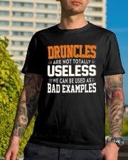 DRUNCLE - EXAMPLES Classic T-Shirt lifestyle-mens-crewneck-front-8