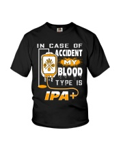 MY BLOOD TYPE IS IPA Youth T-Shirt thumbnail