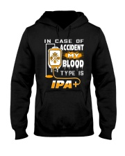 MY BLOOD TYPE IS IPA Hooded Sweatshirt thumbnail