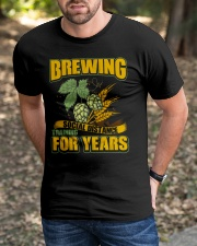 BREWING SOCIAL DISTANCE TRAINING FOR YEARS Classic T-Shirt apparel-classic-tshirt-lifestyle-front-52