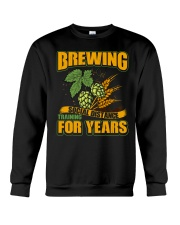 BREWING SOCIAL DISTANCE TRAINING FOR YEARS Crewneck Sweatshirt tile
