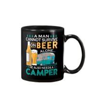 BONFIRE AND BEER - CAMPER Mug thumbnail