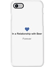 VALENTINE GIFT IN A RELATIONSHIP WITH BEER FOREVER Phone Case thumbnail
