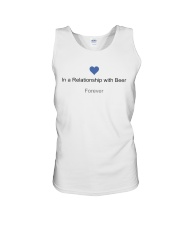 VALENTINE GIFT IN A RELATIONSHIP WITH BEER FOREVER Unisex Tank thumbnail