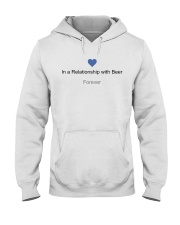 VALENTINE GIFT IN A RELATIONSHIP WITH BEER FOREVER Hooded Sweatshirt thumbnail