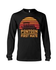 PONTOON LOVER - PONTOON FIRST MATE Long Sleeve Tee thumbnail