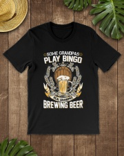 CRAFT BEER AND BREW - REAL GRANDPAS Classic T-Shirt lifestyle-mens-crewneck-front-18