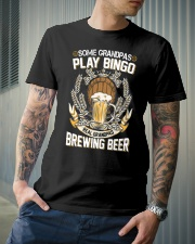 CRAFT BEER AND BREW - REAL GRANDPAS Classic T-Shirt lifestyle-mens-crewneck-front-6
