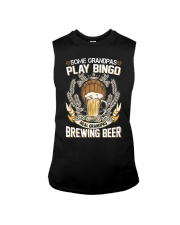 CRAFT BEER AND BREW - REAL GRANDPAS Sleeveless Tee tile