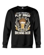 CRAFT BEER AND BREW - REAL GRANDPAS Crewneck Sweatshirt thumbnail