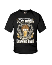CRAFT BEER AND BREW - REAL GRANDPAS Youth T-Shirt thumbnail