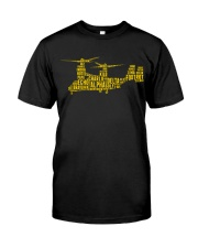 AVIATION RELATED GIFTS - V22 OSPREY Classic T-Shirt front