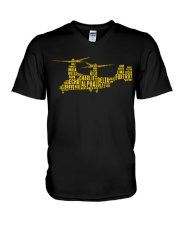 AVIATION RELATED GIFTS - V22 OSPREY V-Neck T-Shirt thumbnail