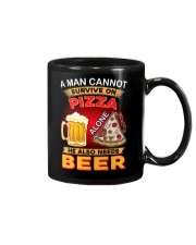 CRAFT BEER LOVER - A MAN NEEDS BEER AND PIZZA Mug thumbnail
