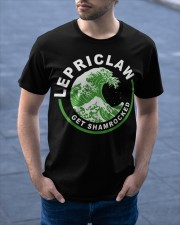 ST PATRICK'S DAY - LEPRICLAW GET SHAMROCKED Classic T-Shirt apparel-classic-tshirt-lifestyle-front-46