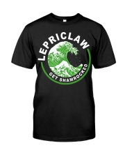 ST PATRICK'S DAY - LEPRICLAW GET SHAMROCKED Premium Fit Mens Tee tile