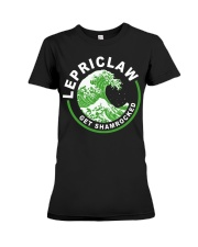 ST PATRICK'S DAY - LEPRICLAW GET SHAMROCKED Premium Fit Ladies Tee tile