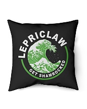 "ST PATRICK'S DAY - LEPRICLAW GET SHAMROCKED Indoor Pillow - 16"" x 16"" thumbnail"