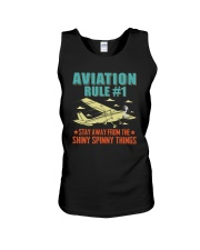 AIRPLANE GIFTS - AVIATION RULE Unisex Tank thumbnail