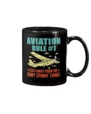 AIRPLANE GIFTS - AVIATION RULE Mug thumbnail
