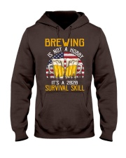 BEER BREWING IS NOT A HOBBY IT'S A SURVIVAL SKILL Hooded Sweatshirt thumbnail