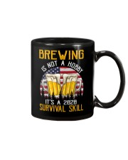 BEER BREWING IS NOT A HOBBY IT'S A SURVIVAL SKILL Mug thumbnail