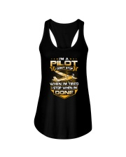 GREAT GIFT FOR PILOT - IM A PILOT Ladies Flowy Tank thumbnail