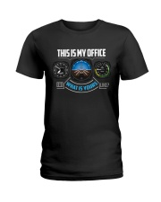 PILOT GIFTS - MY OFFICE Ladies T-Shirt thumbnail