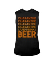 2020 BEER BREWERS QUARANTINE AND DRINK BEER Sleeveless Tee thumbnail